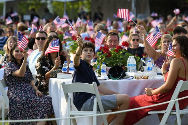 DC: Independence Day Celebrated At The White House