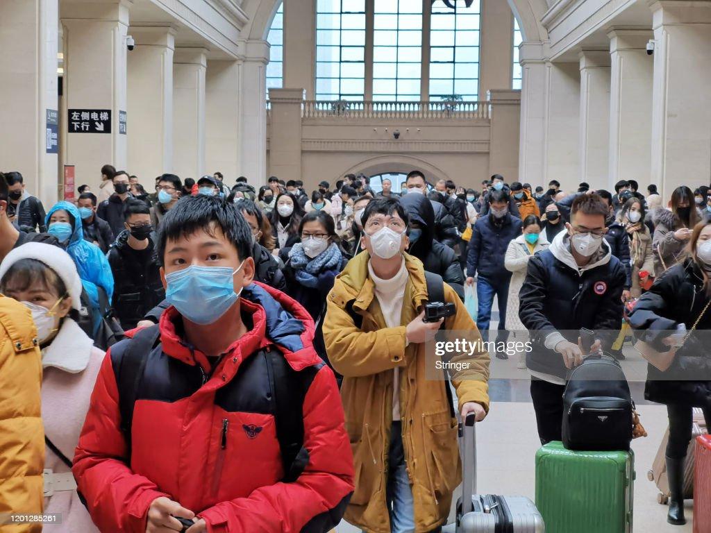 Coronavirus Pneumonia Outbreaks In China : News Photo