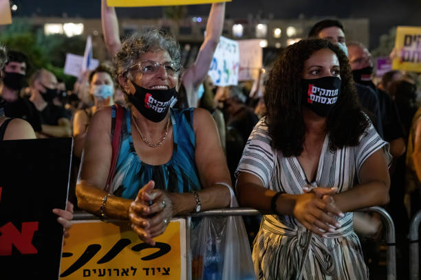 ISR: Protests Over Economy Continue As Israel Sees Spike In Coronavirus Cases