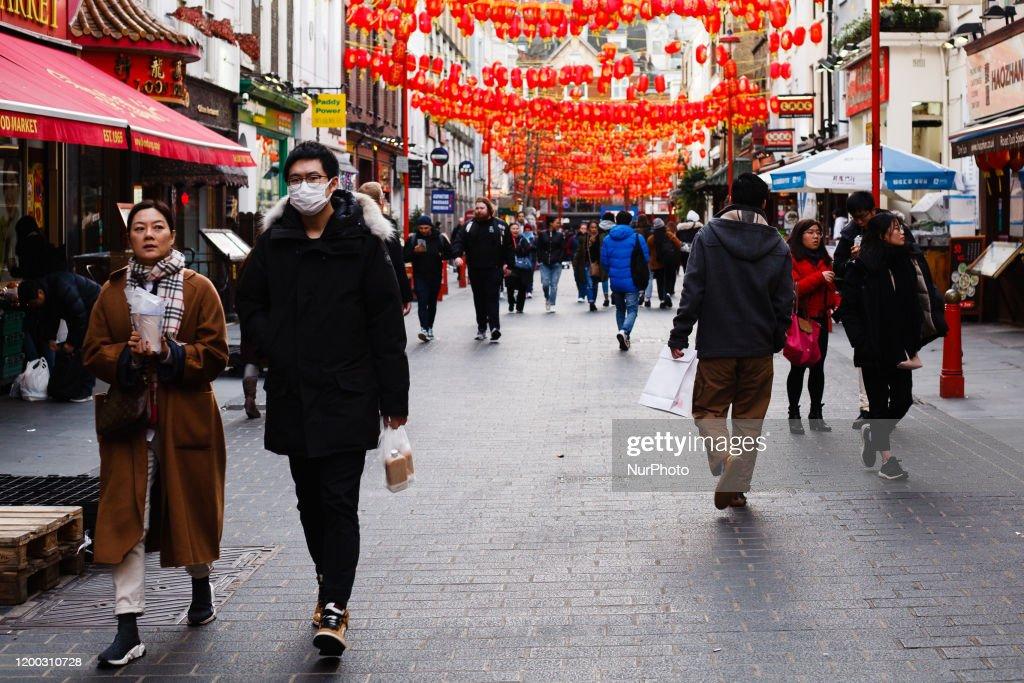 Daily Life In London's Chinatown Amid Coronavirus Concern : News Photo