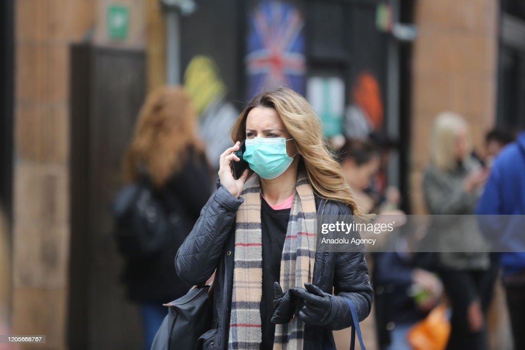 Coronavirus cases rise to 206 in UK : News Photo