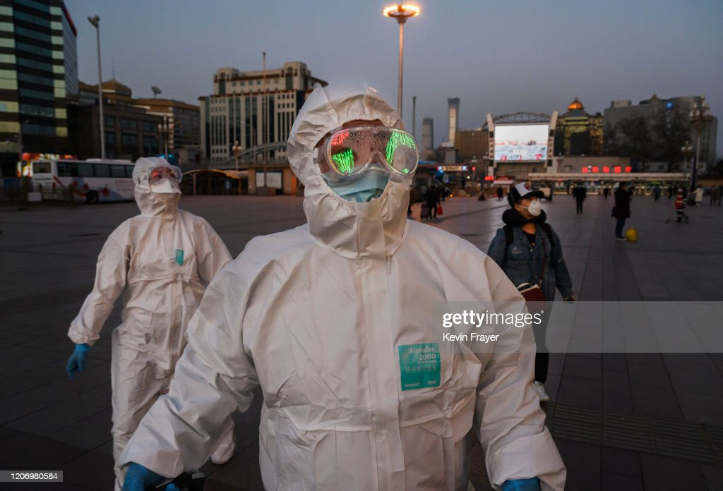 China Works to Contain Spread of Coronavirus : Nieuwsfoto's