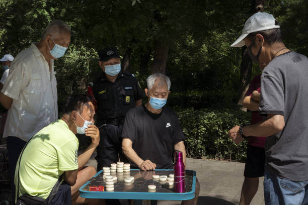 CHN: Daily Life in Beijing as Capital Reports No New Coronavirus Cases