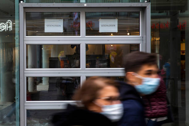 DEU: Coronavirus Pandemic Accelerates Plight Of Inner City Retailers