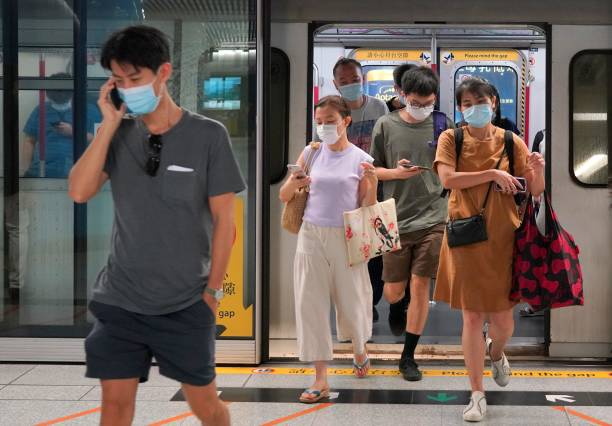 CHN: Daily Life In Hong Kong Amid The Coronavirus Outbreak