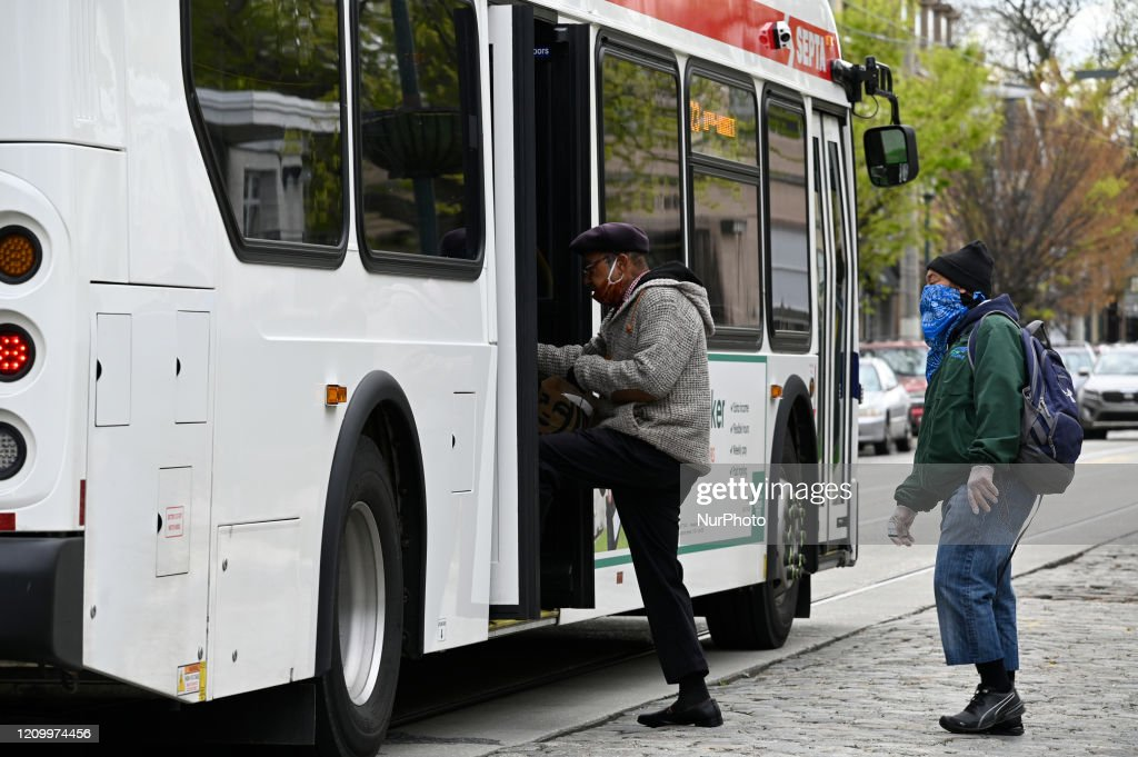 Daily Life in Philadelphia During COVID-19 : News Photo