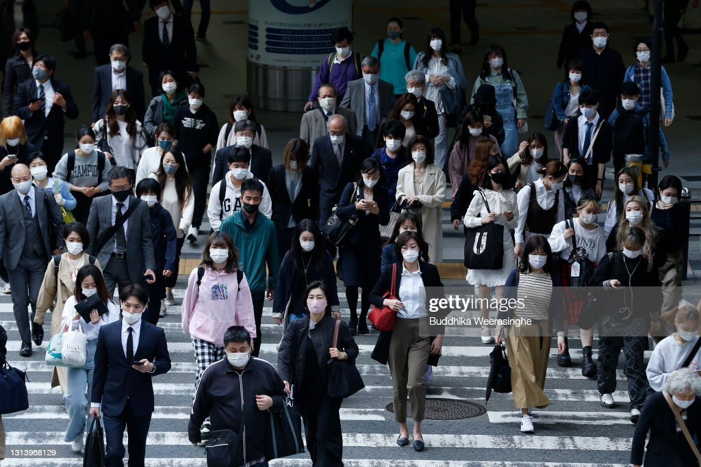 State Of Emergency Expected To Be Declared In Osaka As Japan Experiences A Fourth Wave Of Coronavirus : ニュース写真