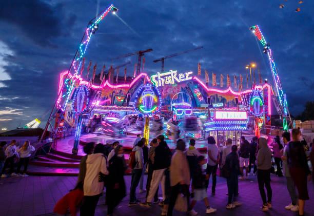 DEU: Hamburg Amusement Fair Resumes After 2020 Pandemic Cancellation