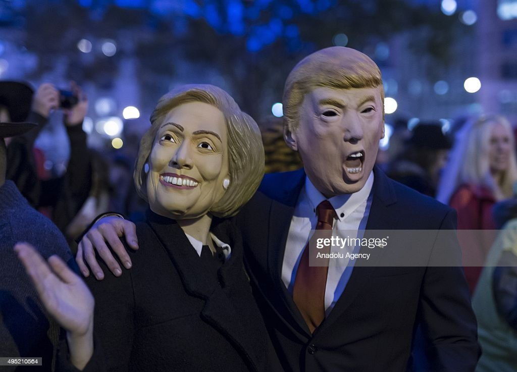 Annual Halloween Parade Held In New York : News Photo