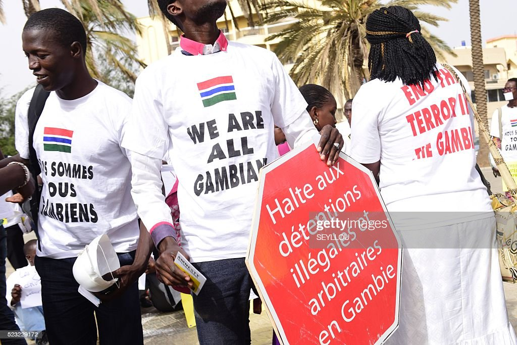 SENEGAL-GAMBIA-POLITICS-UNREST : News Photo