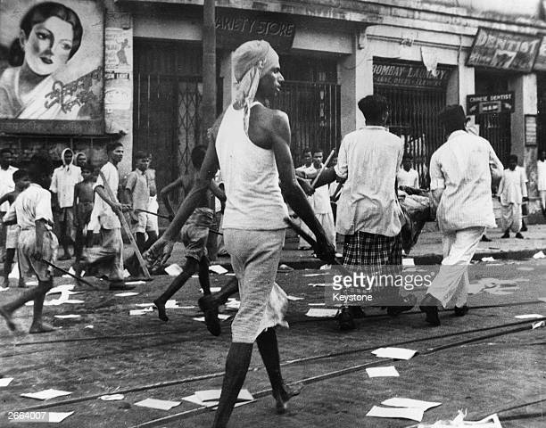 2000 people were killed and over 4000 injured during rioting in Calcutta