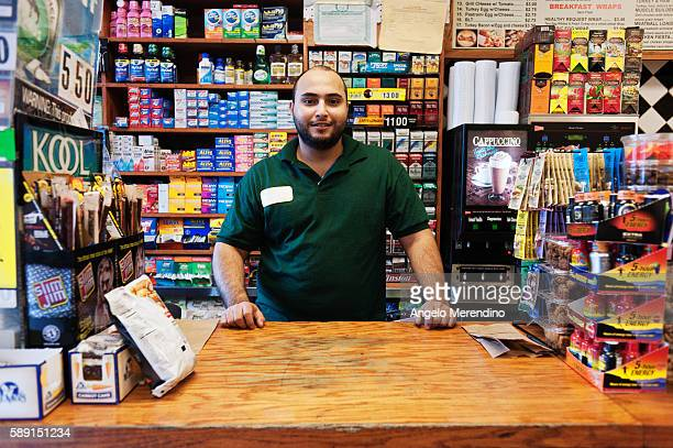 'People were nervous and scared' midtown bodega owner Jaleel stated 'We've been selling the necessities water milk eggs you know the important stuff'
