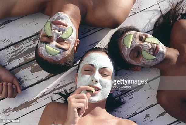 People with Facial Masks
