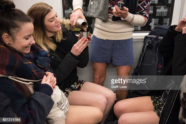 Gallery: Global no trousers on the underground ride 2014