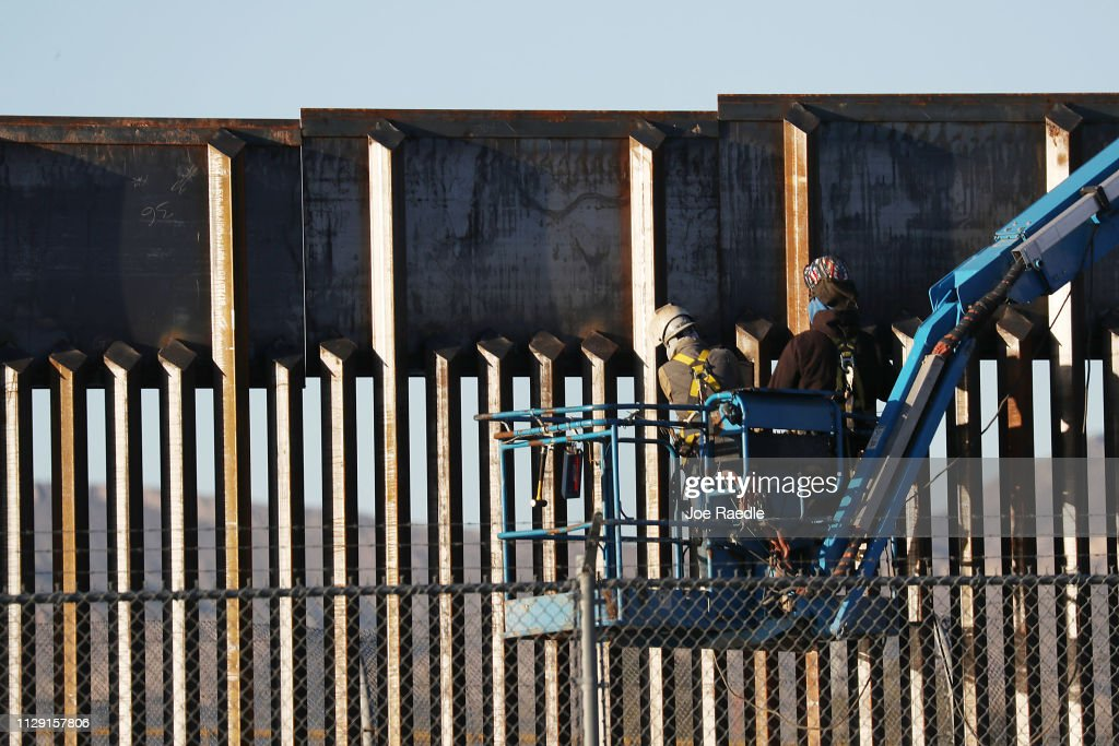 Border Wall And Migration In Focus As Negotiations Over Border Security Continue : News Photo