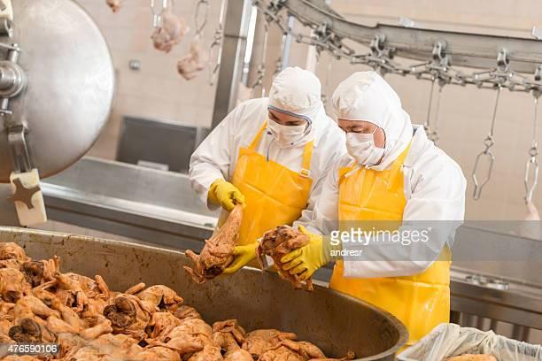 人々の仕事、工場でのお食事 - 食料倉庫 ストックフォトと画像