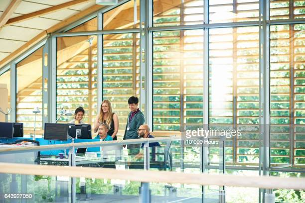 people working in modern office. - responsible business stock photos and pictures