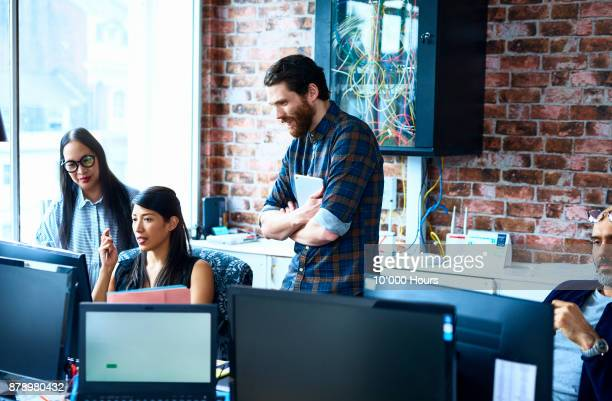 people working in modern office - creative occupation stock pictures, royalty-free photos & images