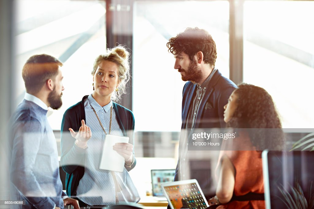 People working in office : Stock Photo
