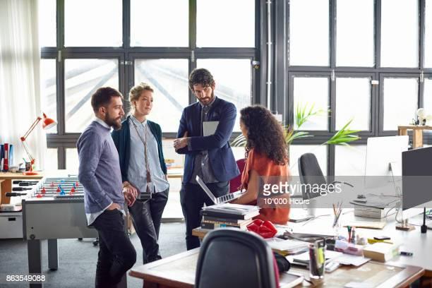 people working in office - four people bildbanksfoton och bilder
