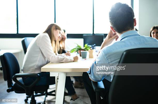 people working in the office - responsible business stock photos and pictures