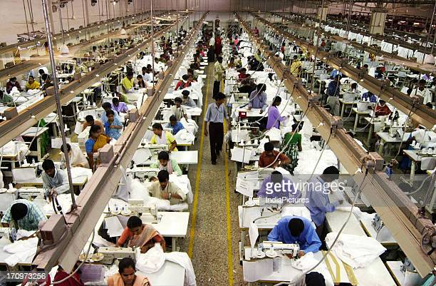 People works inside factory India
