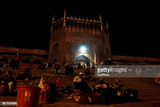 People would like to spend quality time on the stairs of Jamia Masjid's entrance gate Masjidi JahnNum commonly known as the Jama Masjid of Delhi is...