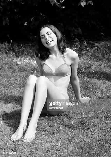 people young girl in a bikini portrait aged 18 to 22 years Gaby Gabi