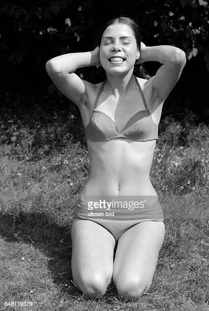people young girl in a bikini portrait aged 18 to 22 years Gaby Gabi