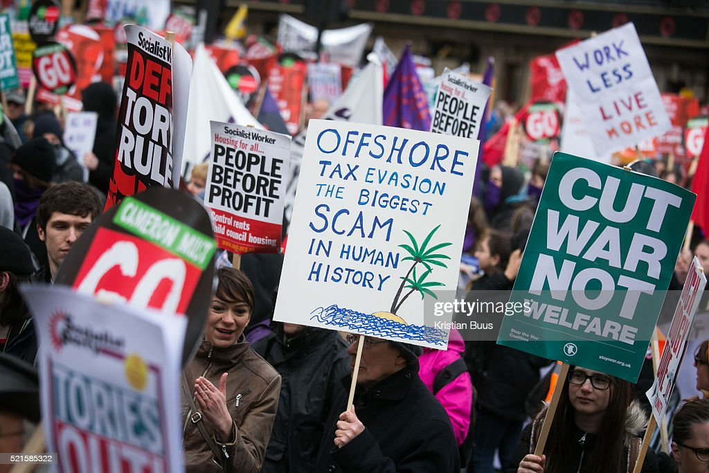 People's Assembly March Against Austerity London : News Photo