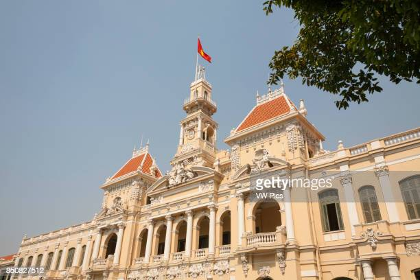 People's Committee Building formerly Hotel de Ville Ho Chi Minh City Vietnam