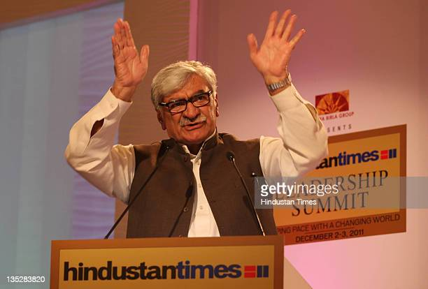 People's Democratic Party Asfandyar Wali Khan President Awami National Party Pakistan during the second day of Hindustan Times Leadership Summit 2011...