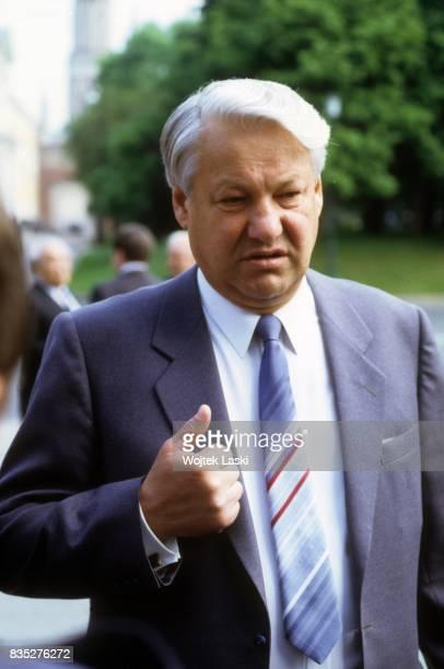 People's Deputy Boris Yeltsin. Moscow, USSR, in March 1989.