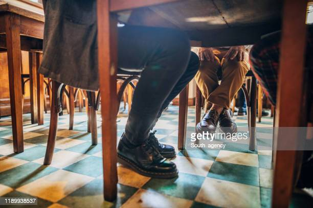 174 Legs Under Table Photos And Premium