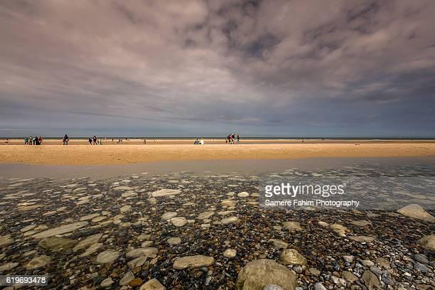 Peoples On Beach