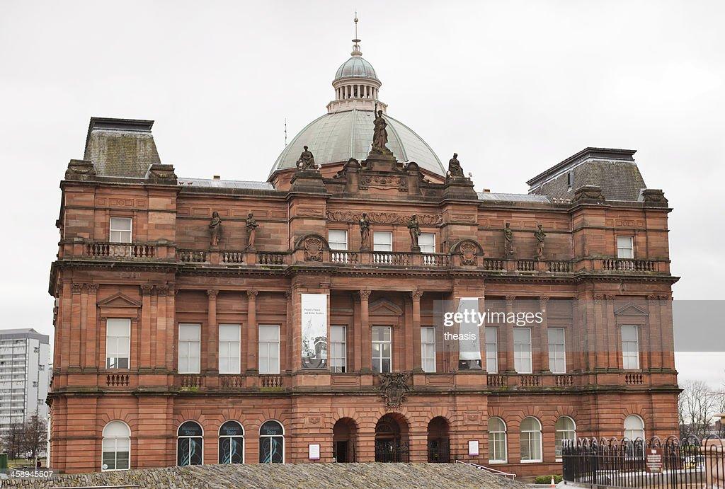 Palácio do Povo, Glasgow : Foto de stock