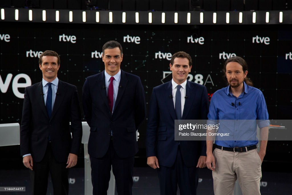 ESP: Spanish Candidates To Elections Attends 'El Debate'