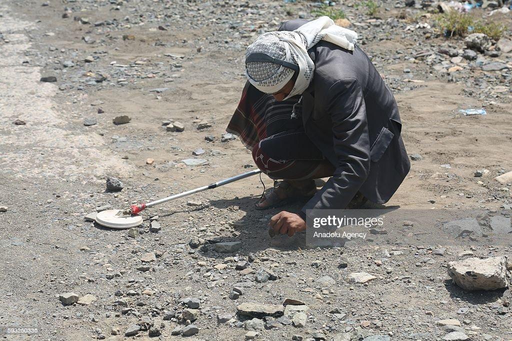 Clashes in Yemen : News Photo