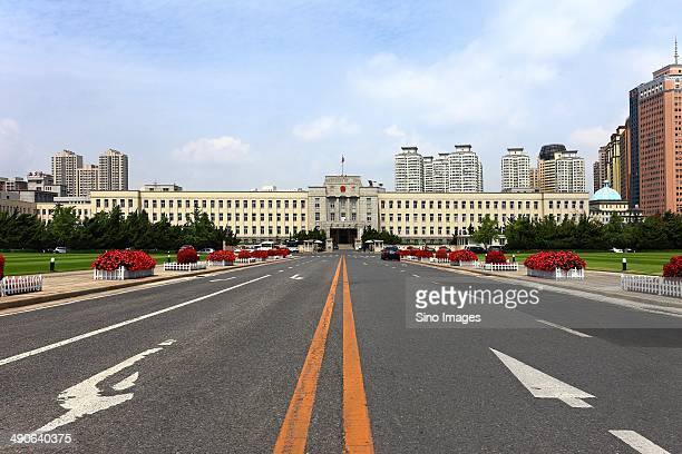 People's Square in DaLian,China