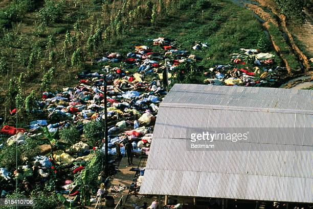 People's Temple Cult mass suicide at Jonestown Guyana