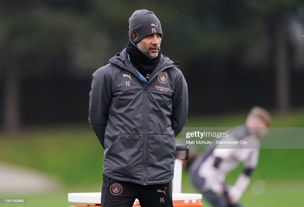 Manchester City - Press Conference And Training Session : News Photo