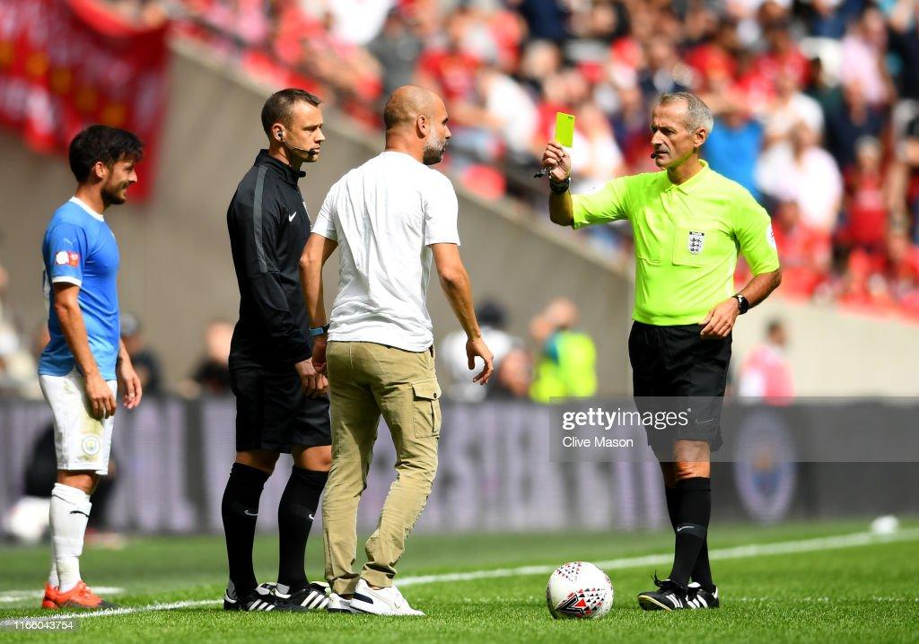 Liverpool v Man City - FA Community Shield : Nachrichtenfoto