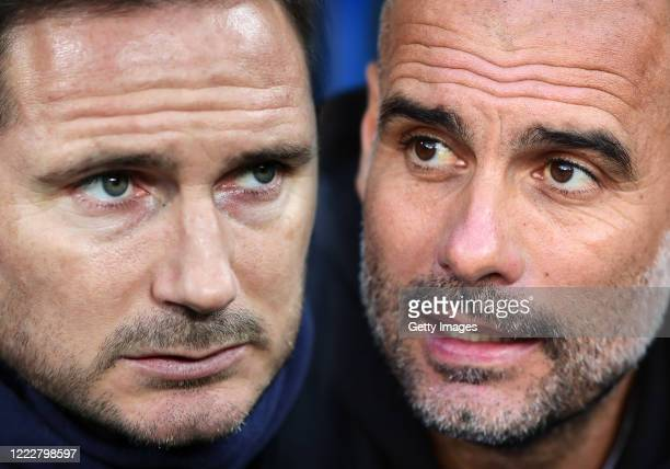 COMPOSITE OF IMAGES Image numbers 1200362670 1182084551 GRADIENT ADDED In this composite image a comparison has been made between Frank Lampard...