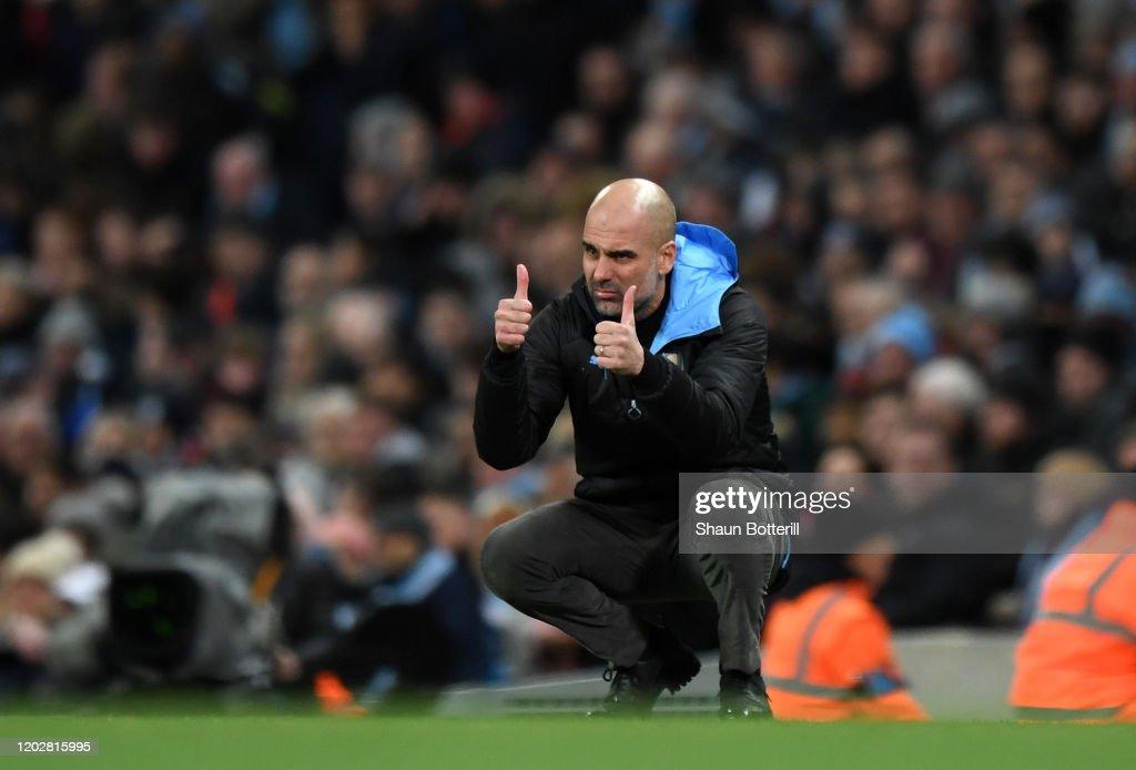 Manchester City v Manchester United - Carabao Cup: Semi Final : Fotografía de noticias