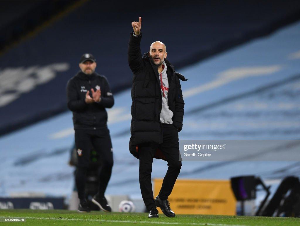 Manchester City v Southampton - Premier League : ニュース写真