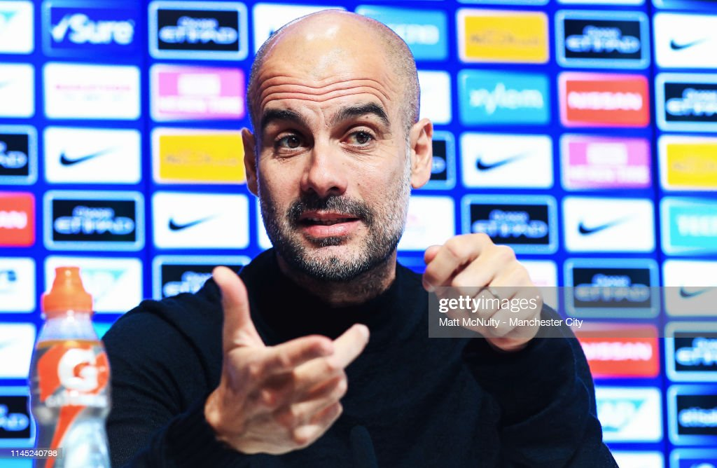 GBR: Manchester City Press Conference