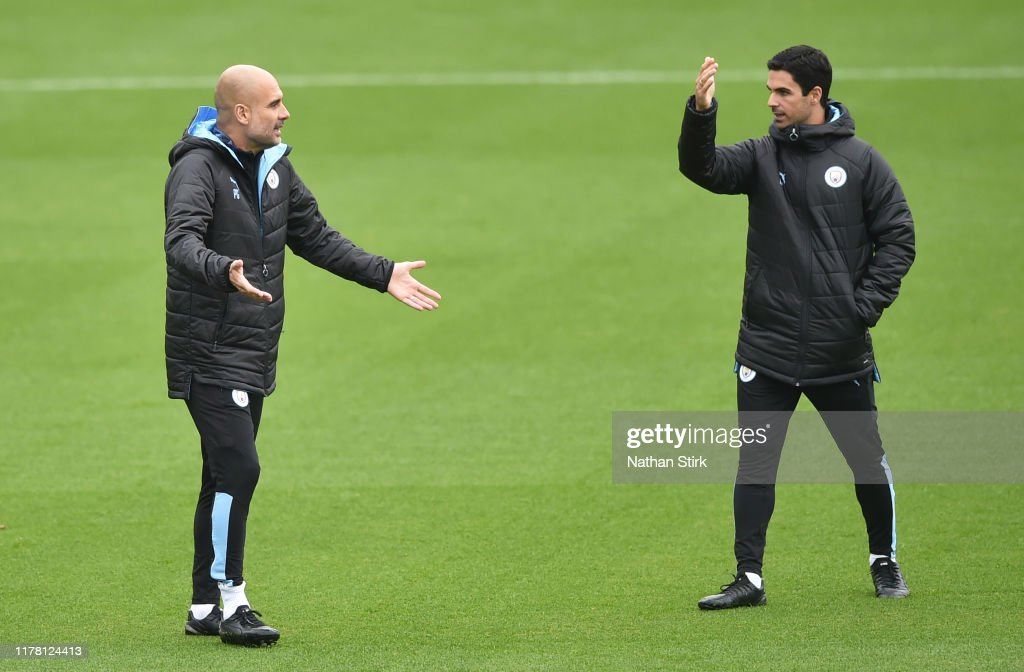 Manchester City Training Session and Press Conference : ニュース写真