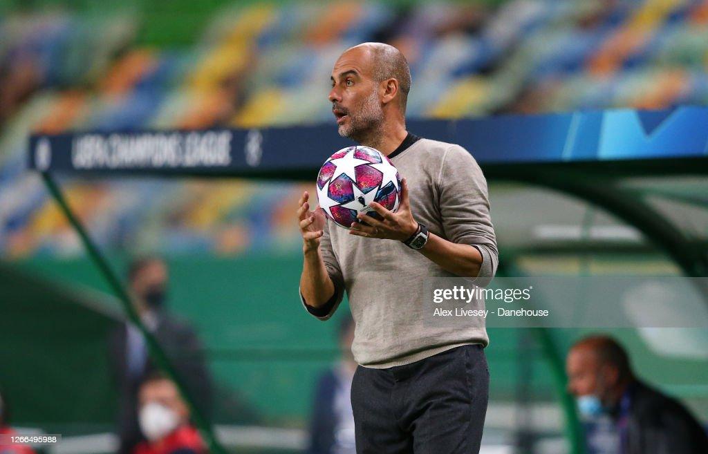 Manchester City v Lyon - UEFA Champions League Quarter Final : News Photo