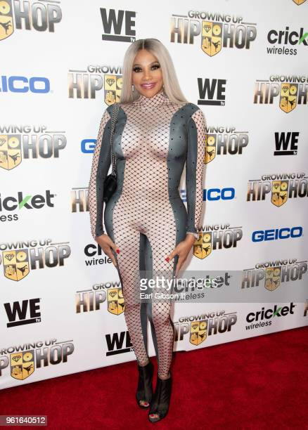Pepa attends the Premiere of WEtv's Growing Up Hip Hop Season 4 on May 22 2018 in West Hollywood California