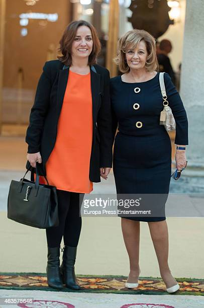 Pepa Bueno and Maria Teresa Campos attend 'National Culture Awards' 2015 on February 16 2015 in Madrid Spain